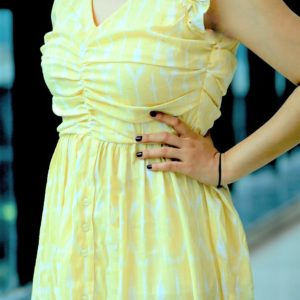 Mellow Yellow Midi Dress