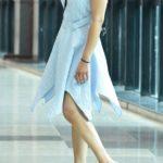 Blue Gingham Short dress